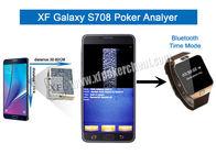 Van Goede Kwaliteit Onzichtbare Speelkaarten & Metaal/de Plastic Analysator van de de Camerapook van S708 Draadloze met Één of Twee Dekken te koop