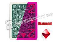 Van Goede Kwaliteit Onzichtbare Speelkaarten & De Plastic 4-kant Duidelijke Speelkaarten van Modianotexas Holdem voor UVcontactlenzen te koop