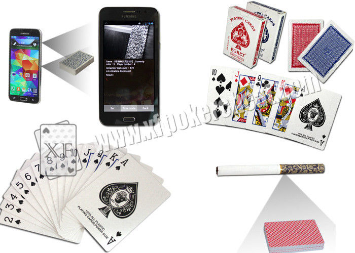 EGRET Barcode Invisible Cheat Playing Cards For Poker Analayzer Texas Holdem Poker Game