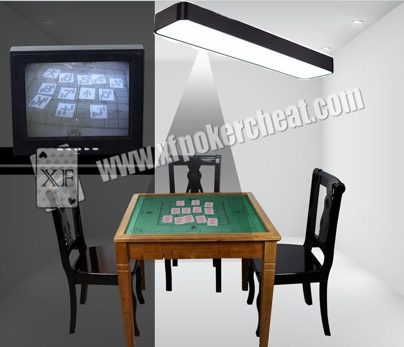 Lamp Camera For Backside Marked Playing Cards New Ink Anti Detecting