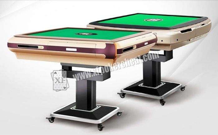 90 * 90cm Casino Cheating Devices Automatic Mahjong Table With Cheating Program