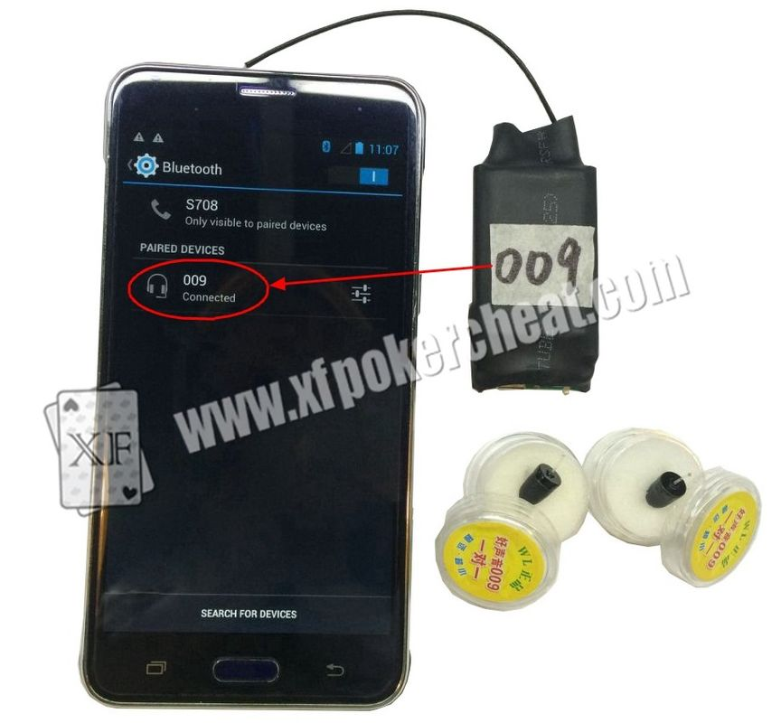 A8 Bluetooth Wilress Earpieces Work With Poker Analyzers And Mobile Phone